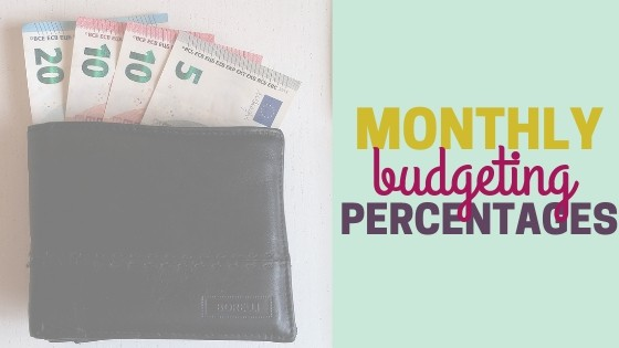Dave Ramsey Monthly Budget Percentages