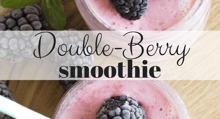 Double-Berry Smoothie (Blackberry and Raspberry Smoothie Recipe)