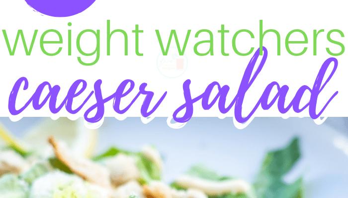 Weight Watchers Caesar Salad 2 Points