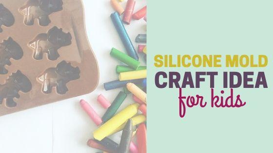 Broken Crayon Silicone Mold Craft for Kids