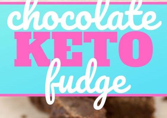 Keto Low Carb Chocolate Fudge Recipe