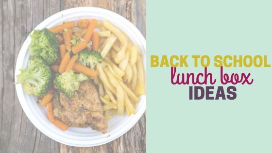 Easy Back to School Lunch Box Ideas for Kids