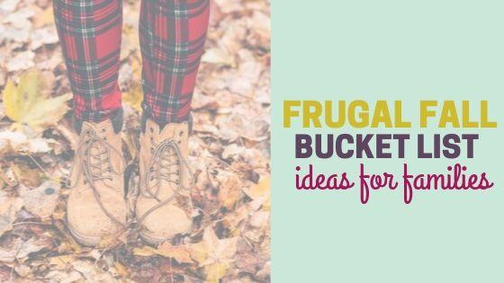 Fall Bucket List Ideas for Families (+ Printable)