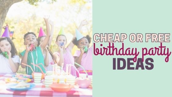 Free or Cheap Places to have a Birthday Party