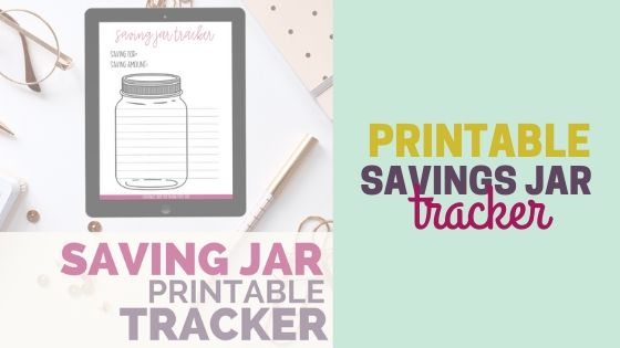 Free Saving Jar Printable