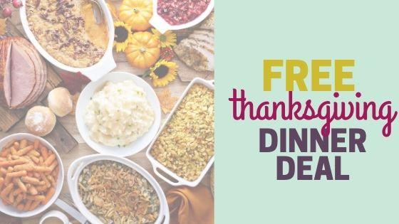 Free Thanksgiving Dinner with Ibotta Cash Back App