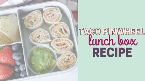 Taco Pinwheels Recipe- Easy Lunch Box Ideas