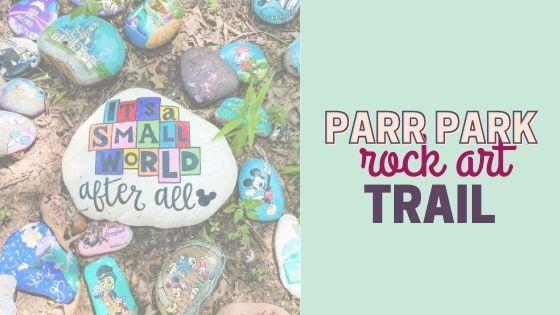 Parr Park Rock Art Trail {DFW Free Activity}