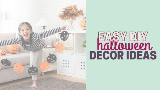 20 Easy & Unique DIY Halloween Decor Ideas