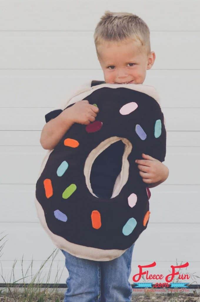 handmade donut costume for DIY Halloween Costumes for Kids