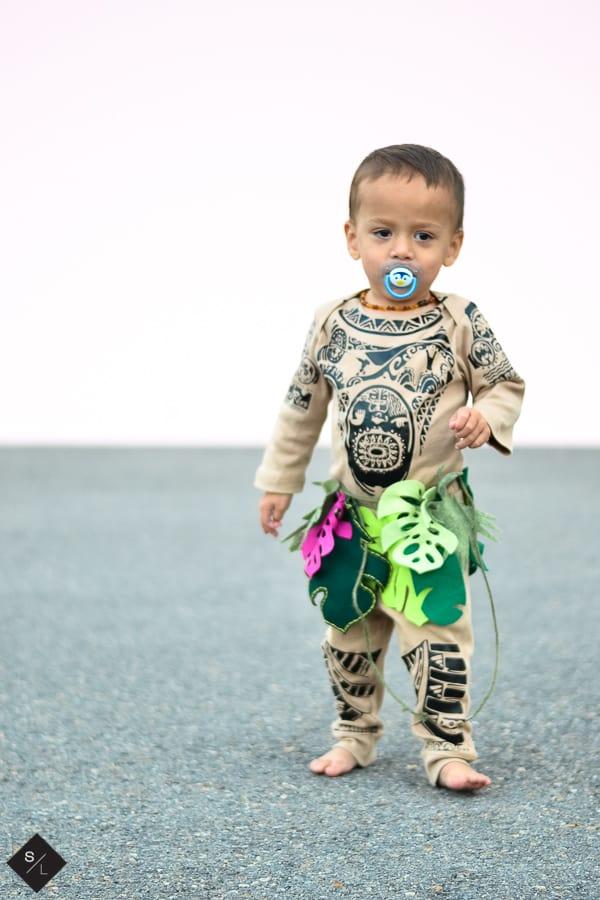 Disney Maui DIY Halloween Costume for Kids
