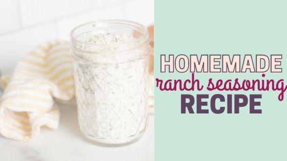 How to Make Homemade Ranch Seasoning Mix (tastes like Hidden Valley)