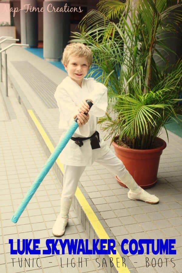 Star Wars Homemade Costume for Kids