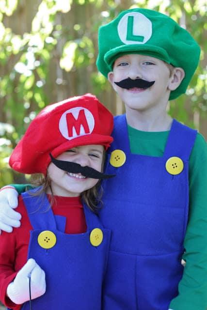 mario and luigi costume idea