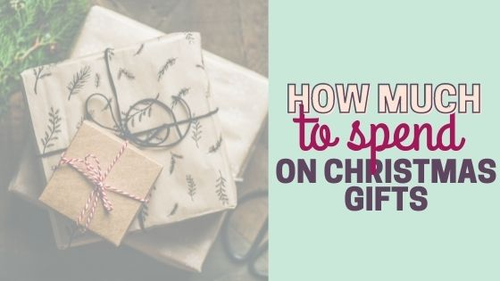 How much do you spend on Christmas gifts for your family? (Broken Down!)