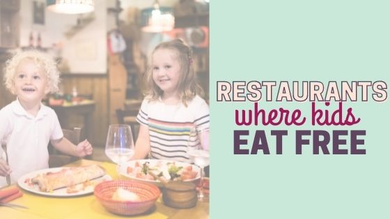 42 Restaurants where Kids Eat Free near Fort Worth (The Ultimate Guide!)
