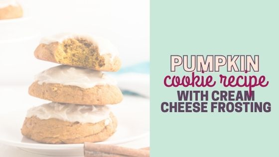 Pumpkin Drop Cookies with Maple Cream Cheese Frosting